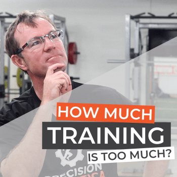How much training