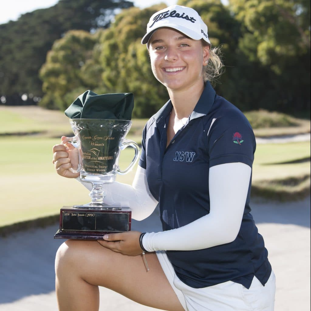 Stephanie Kyriacou Golf