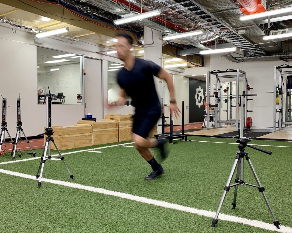 Athlete Sprint Testing - Precision Athletica