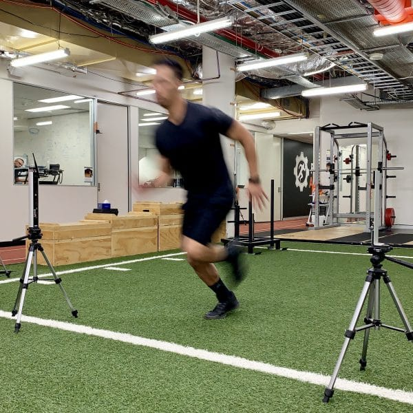 Athlete Sprint Testing - Precision Athletica