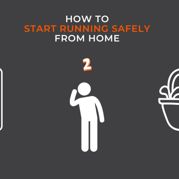 How to Start Running Safely from Home