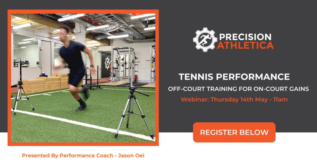 Tennis Performance Training Webinar at Precision Athletica