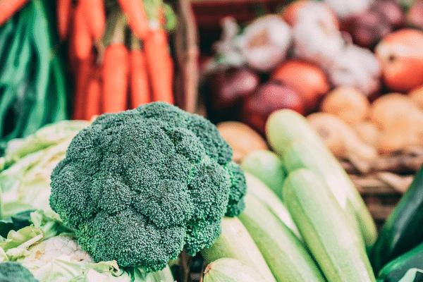 Athlete Shopping List Vegetables