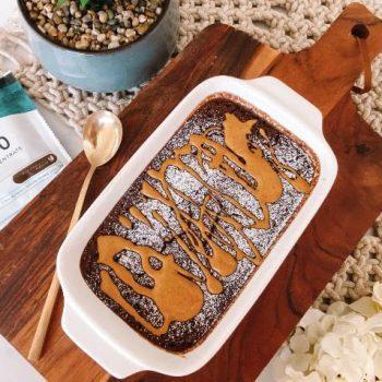 Chocolate Fudge Brownie Baked Oats