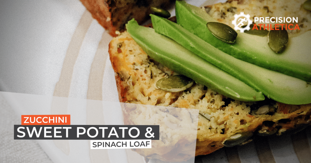 Zucchini, Sweet Potato and Spinach Loaf